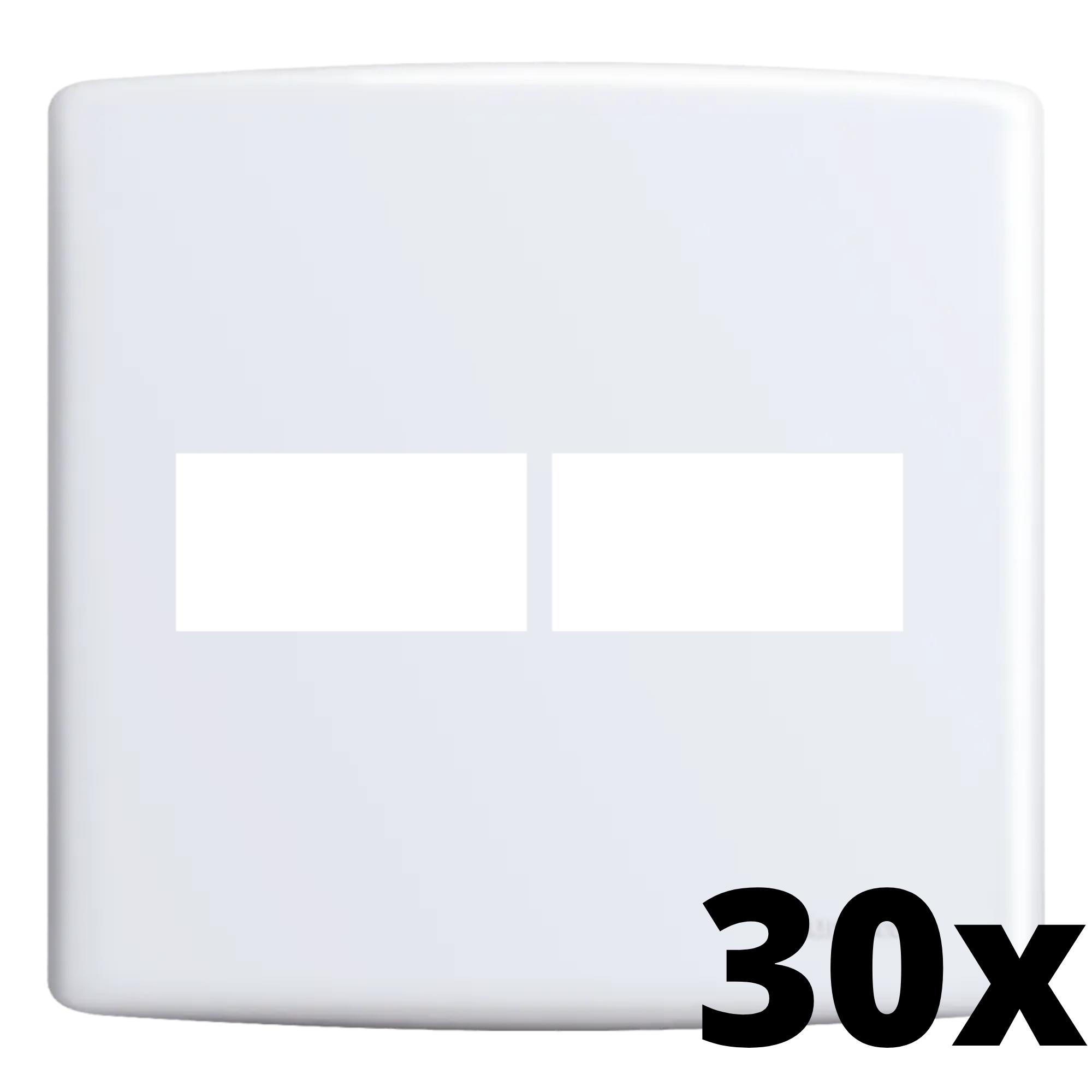 Kit 30 und Siena Placa 4x4 1 Seção + 1 Seção