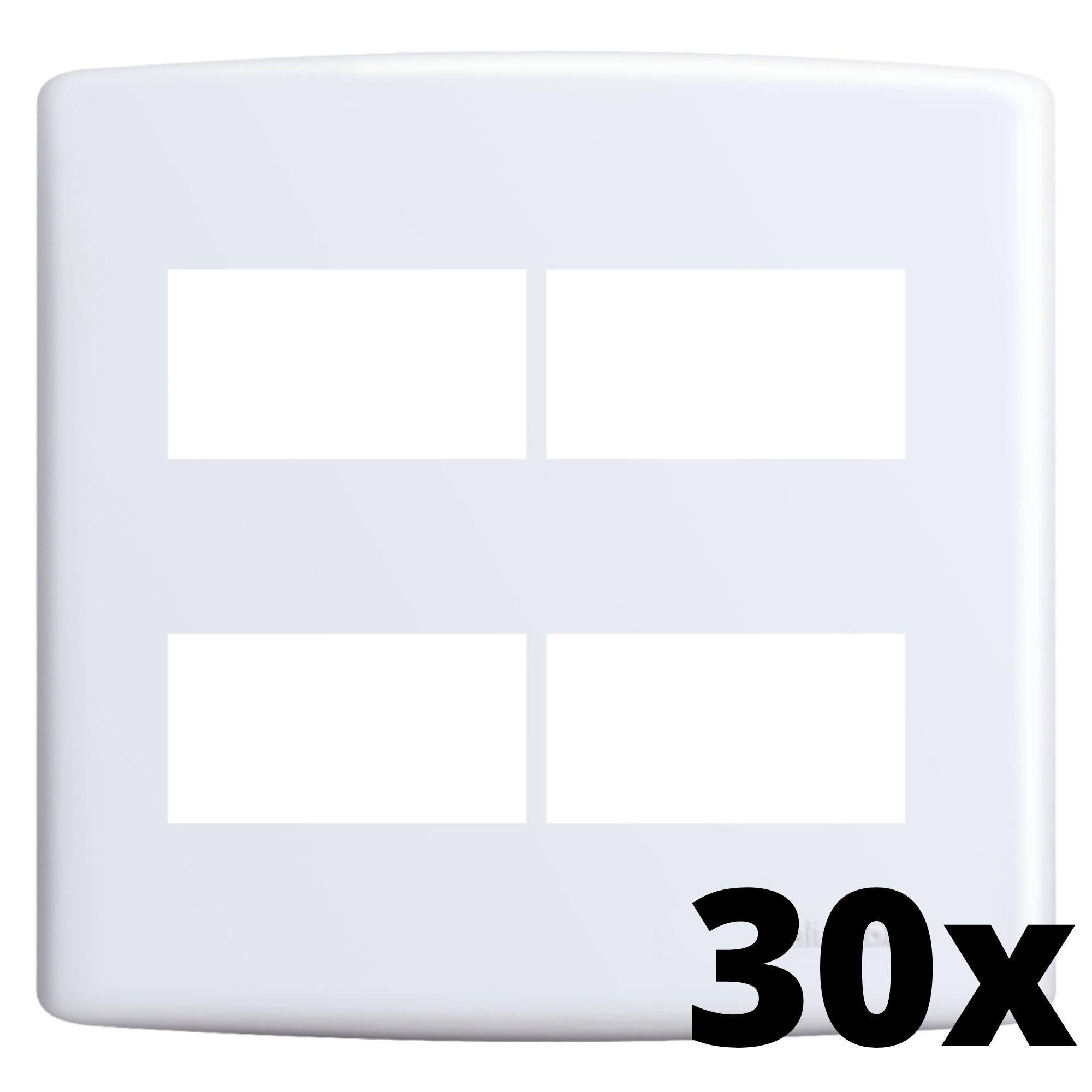 Kit 30 und Siena Placa 4x4 2 Seções + 2 Seções Distanciadas