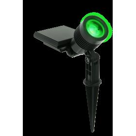 Kit 5 und Ecoforce Espeto Spot Solar ABS 10 Lumens Luz Verde