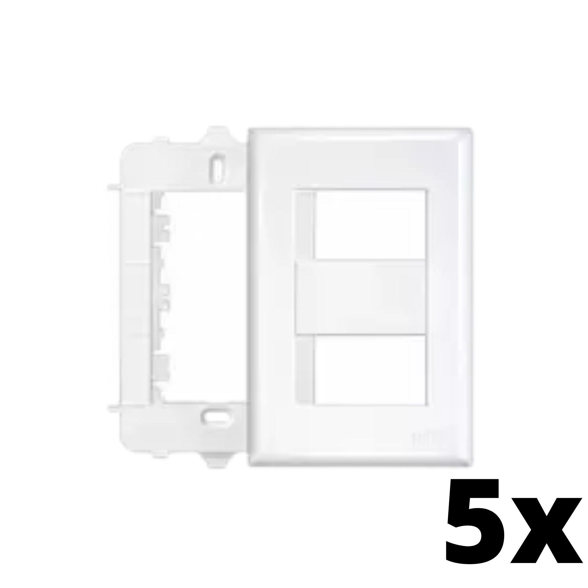 Kit 5 und Evidence Placa 4x2 2 Seções Distanciadas