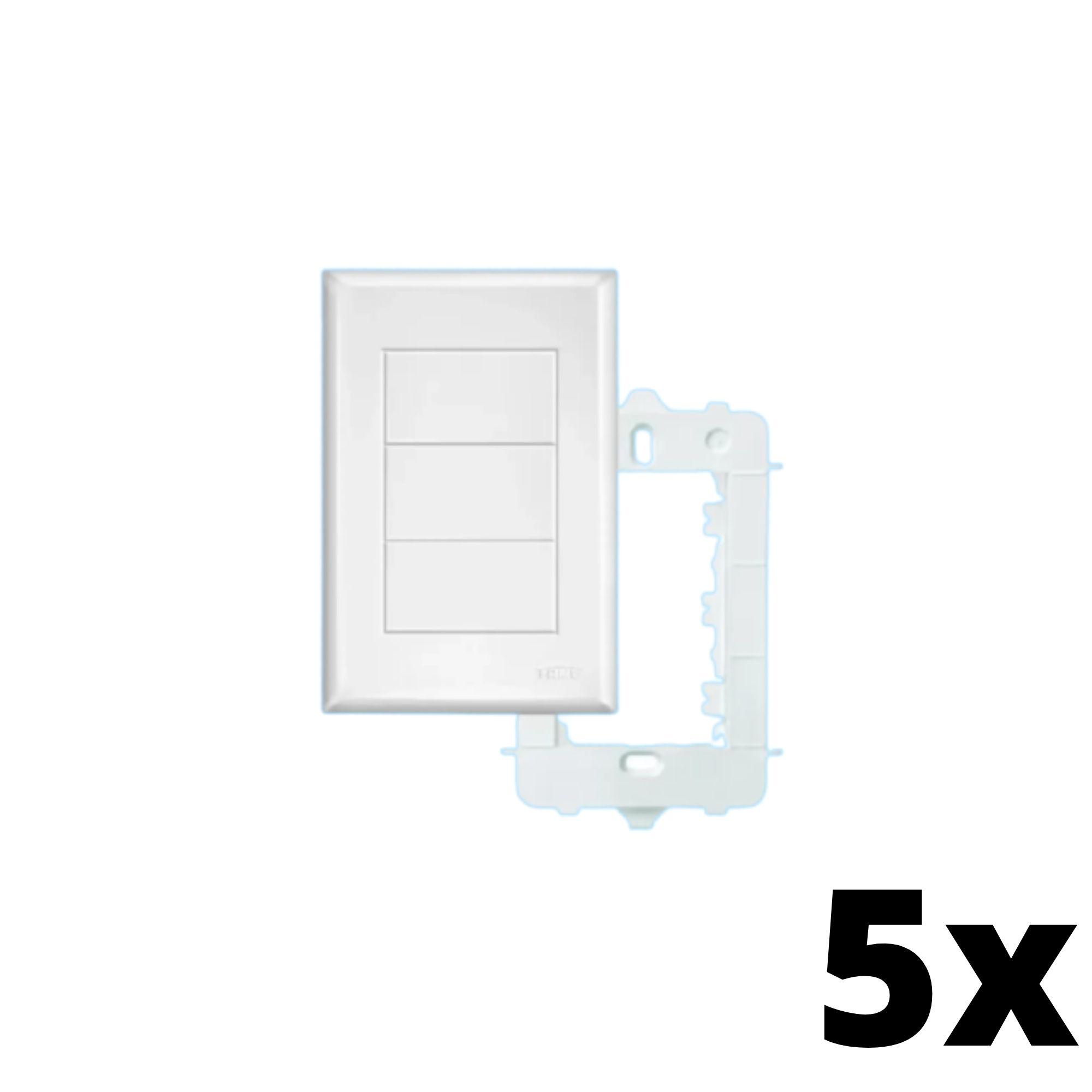 Kit 5 und Evidence Placa 4x2 Cega