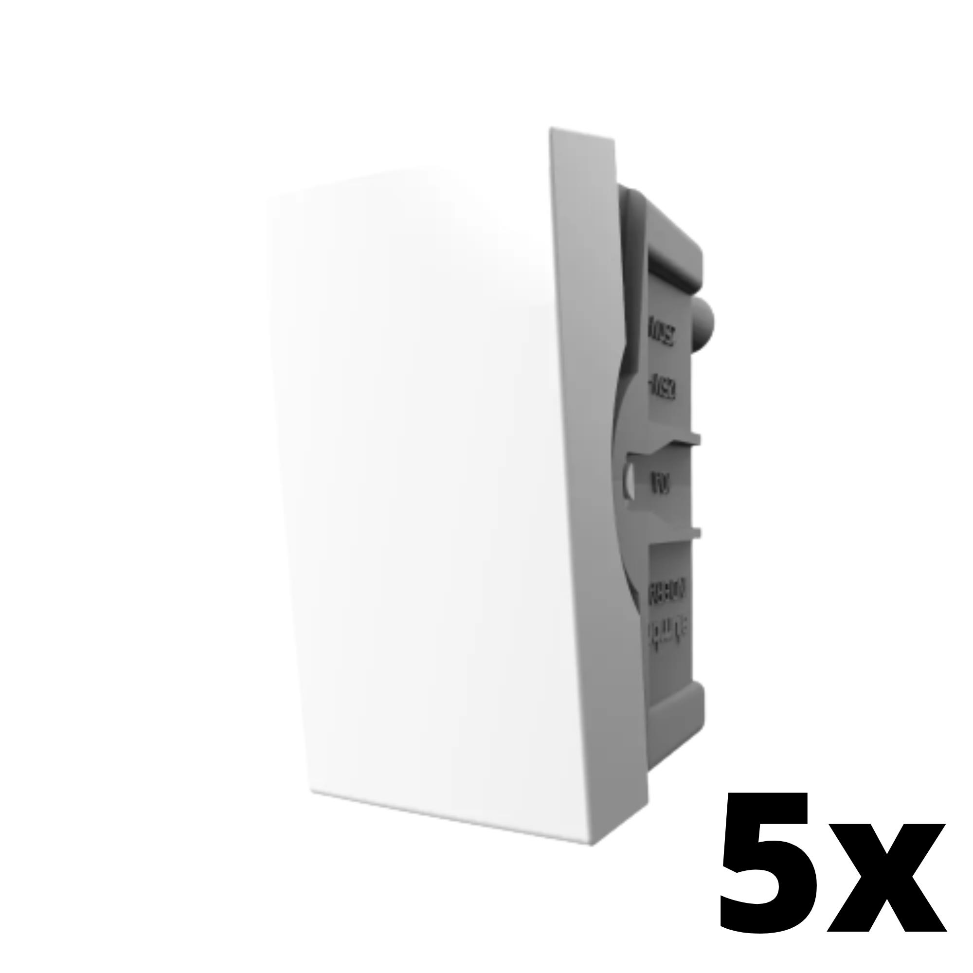 Kit 5 und Inova Pró Módulo de Interruptor Simples