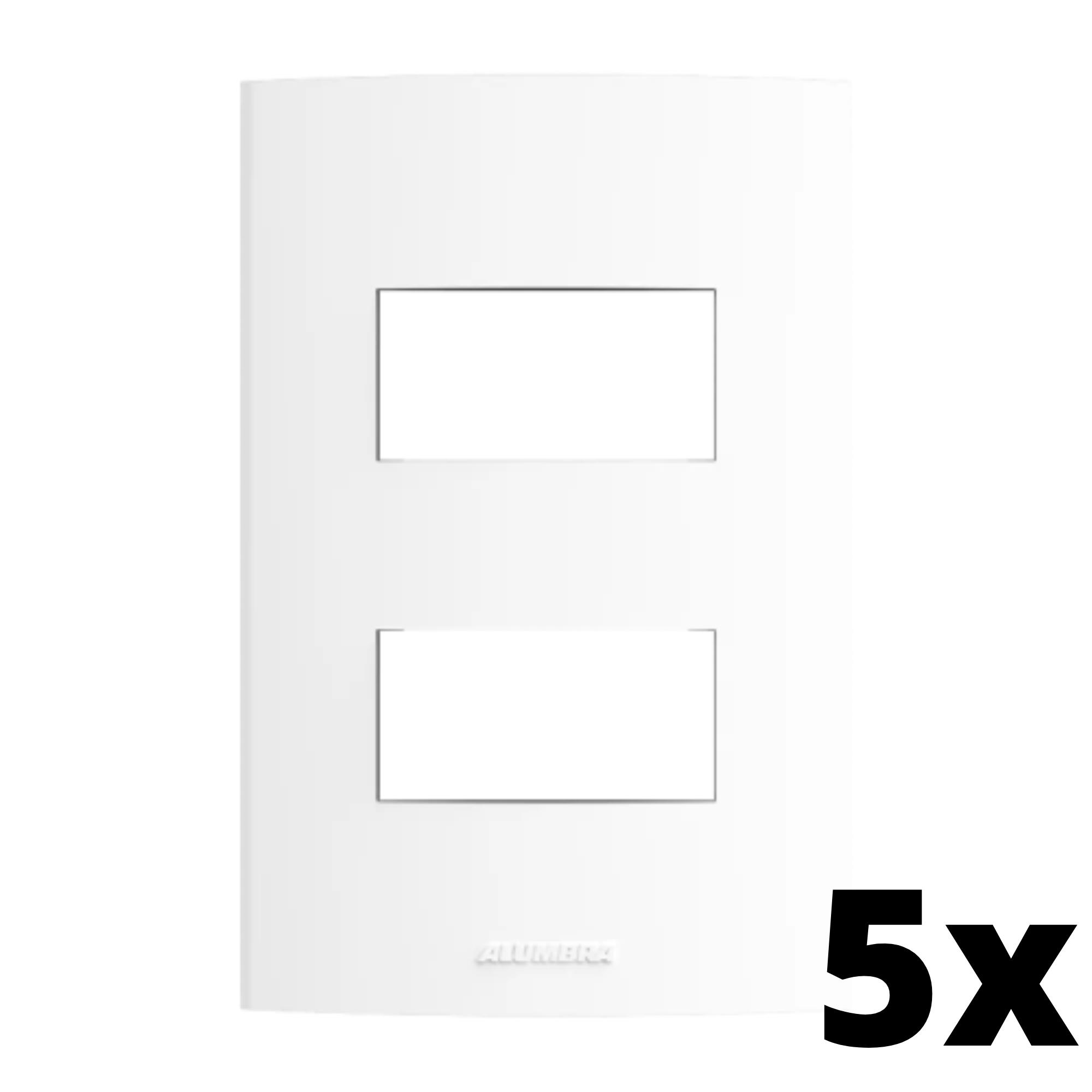 Kit 5 und Inova Pró Placa 4x2 2 Seções