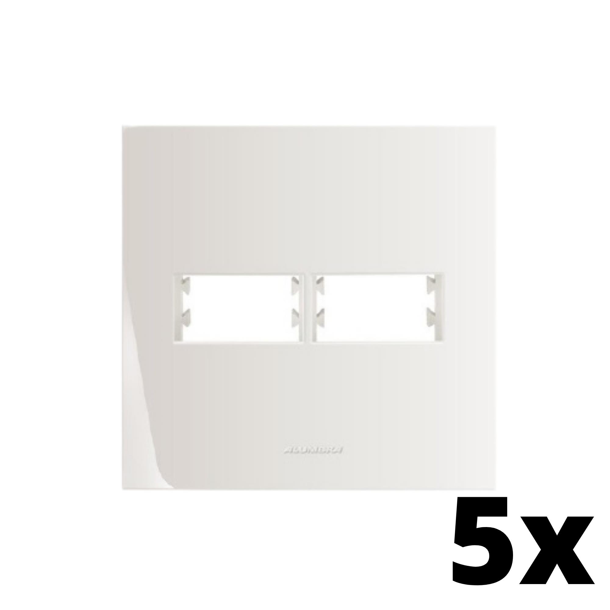 Kit 5 und Inova Pró Placa 4x4 1 Seção + 1 Seção