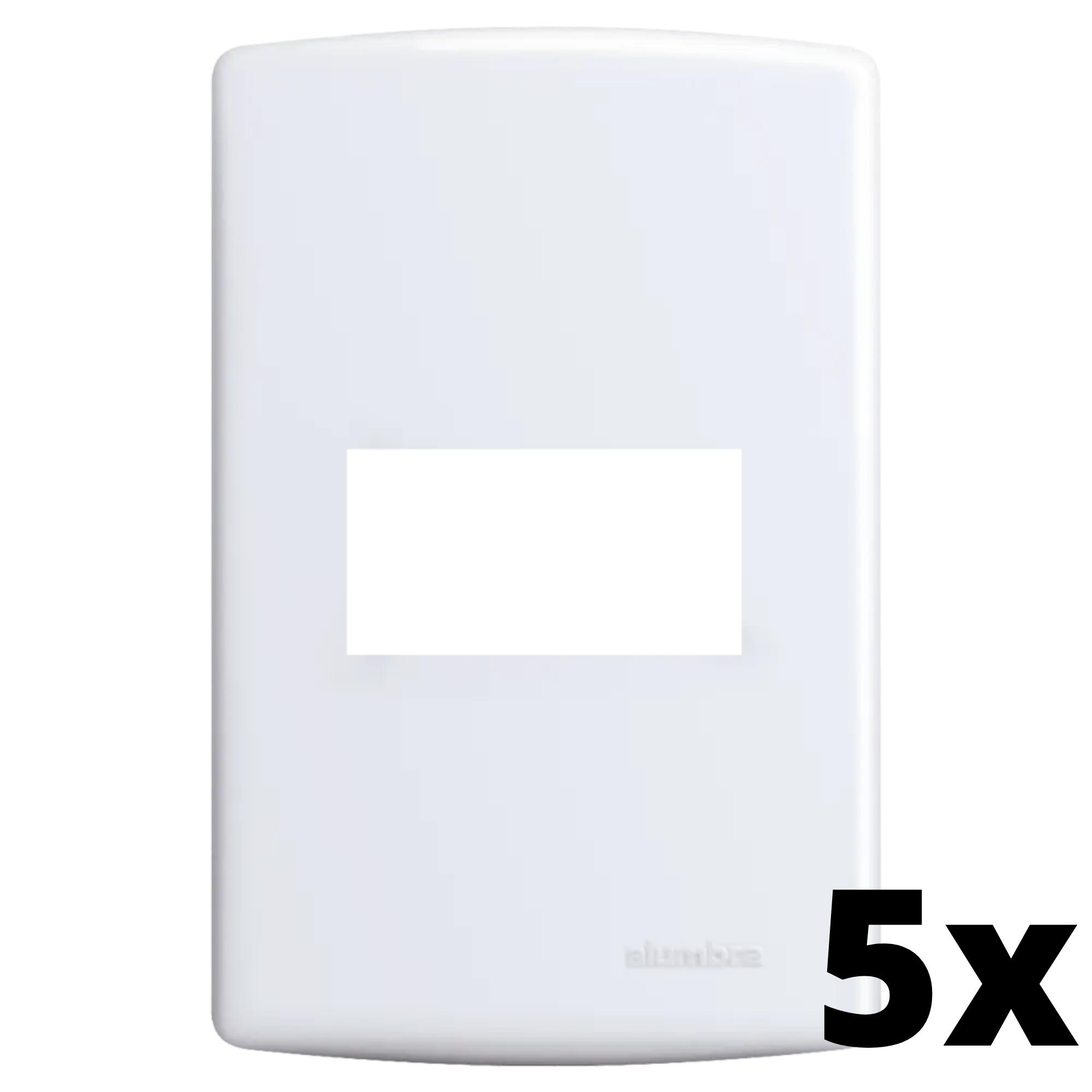 Kit 5 und Siena Placa 4x2 1 Seção