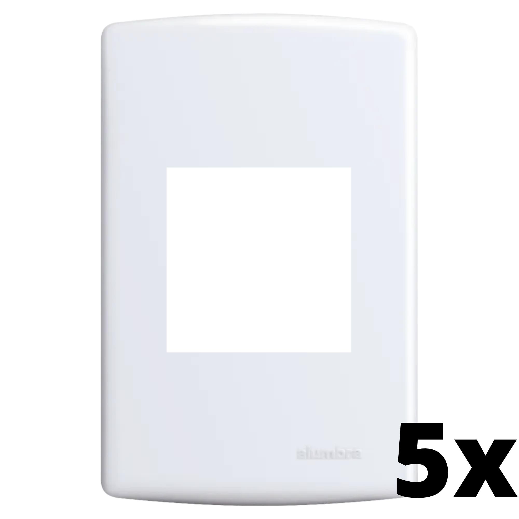 Kit 5 und Siena Placa 4x2 2 Seções