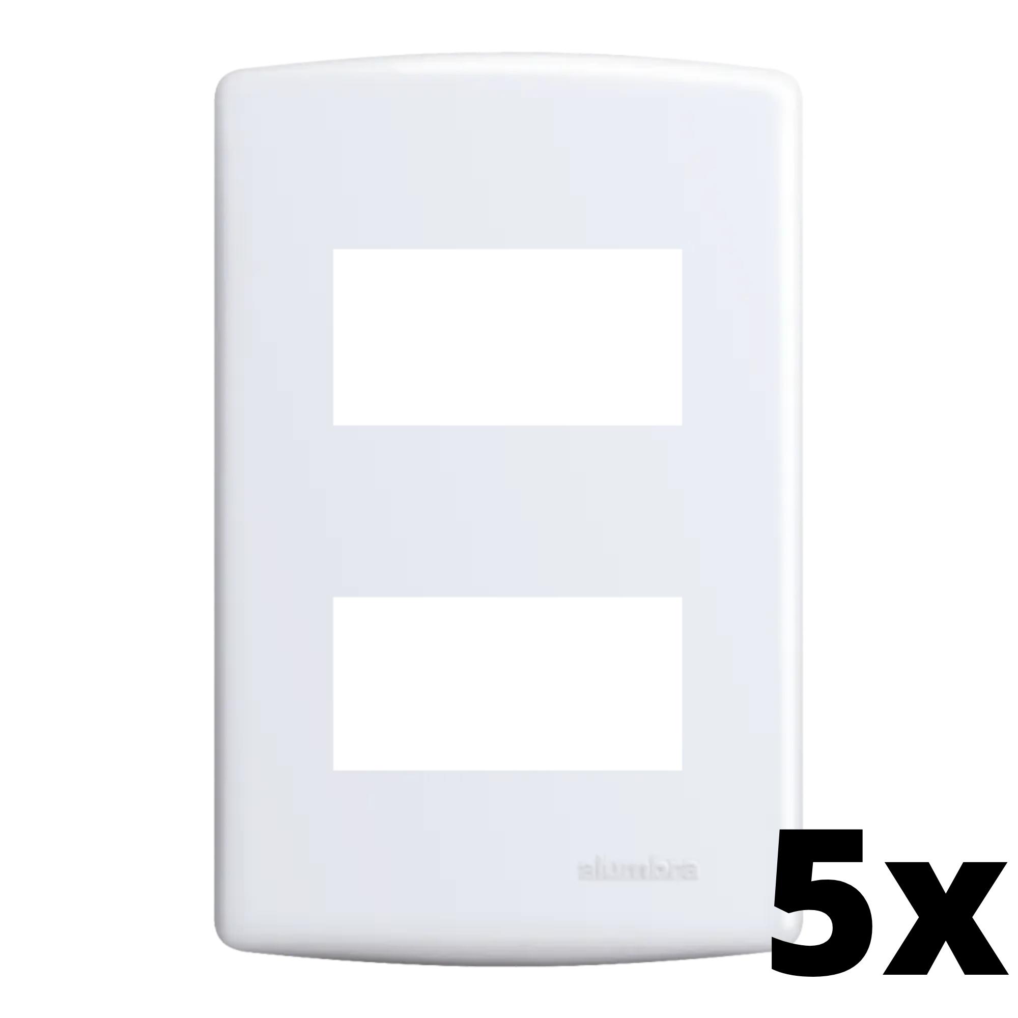 Kit 5 und Siena Placa 4x2 2 Seções Distanciadas