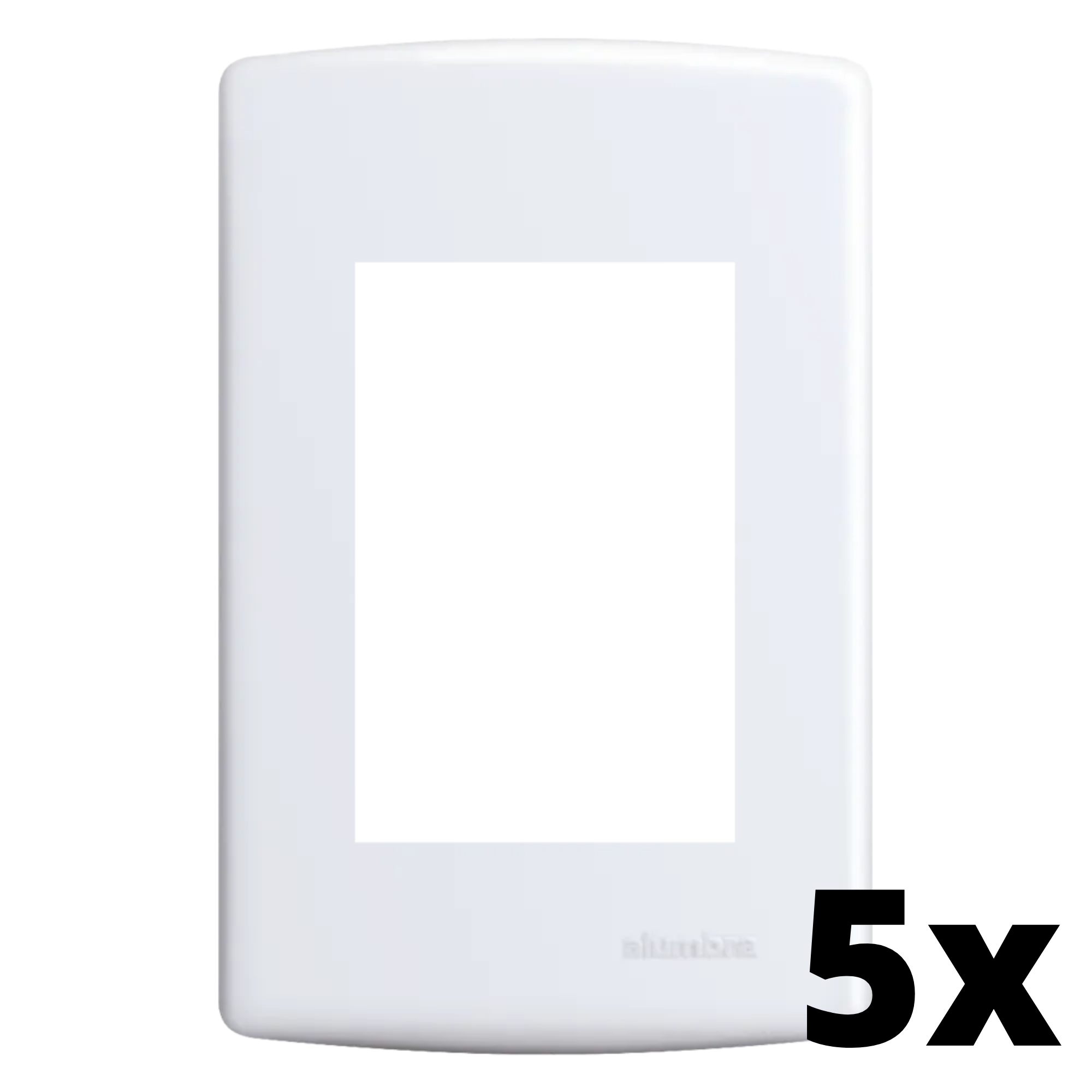 Kit 5 und Siena Placa 4x2 3 Seções