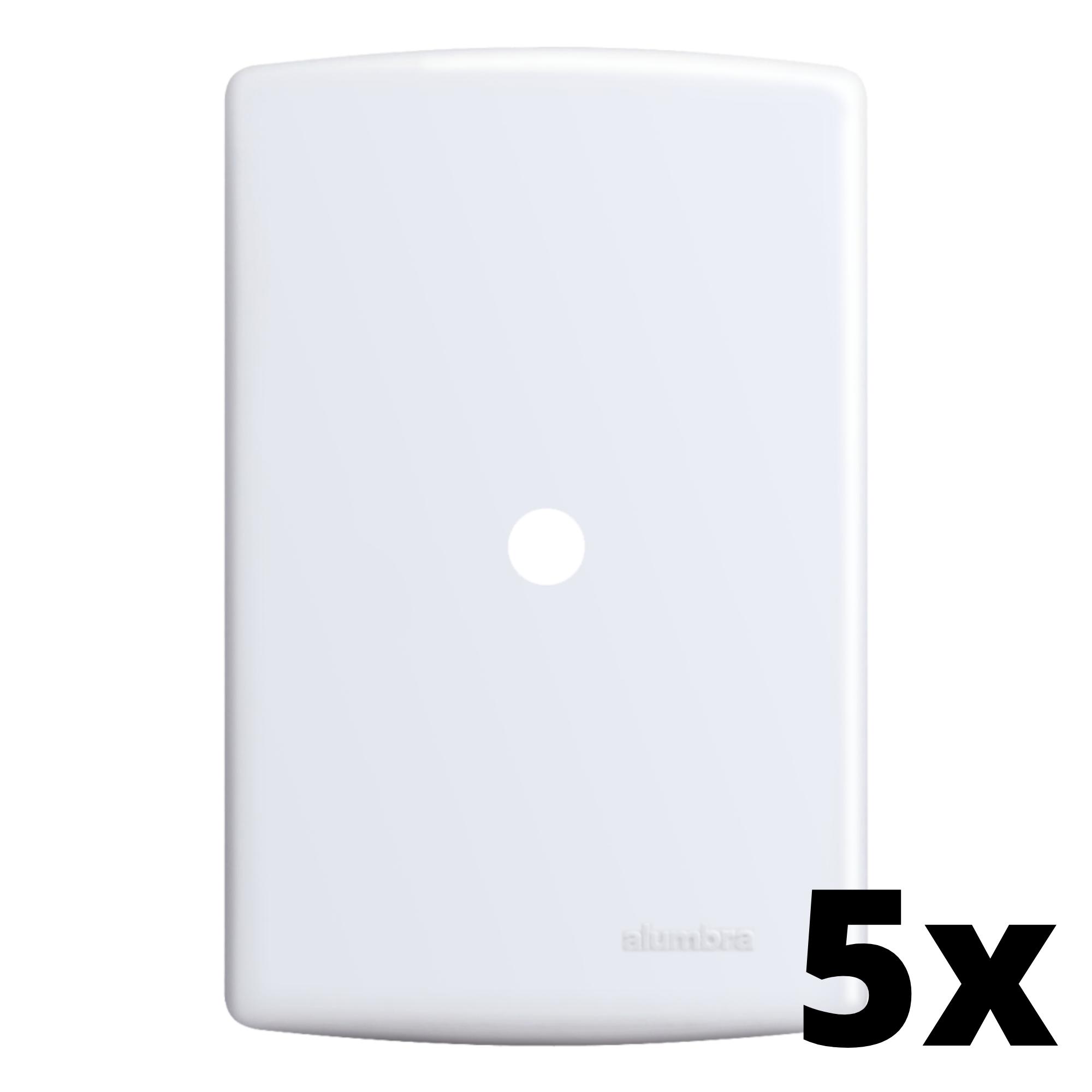Kit 5 und Siena Placa 4x2 Com Furo