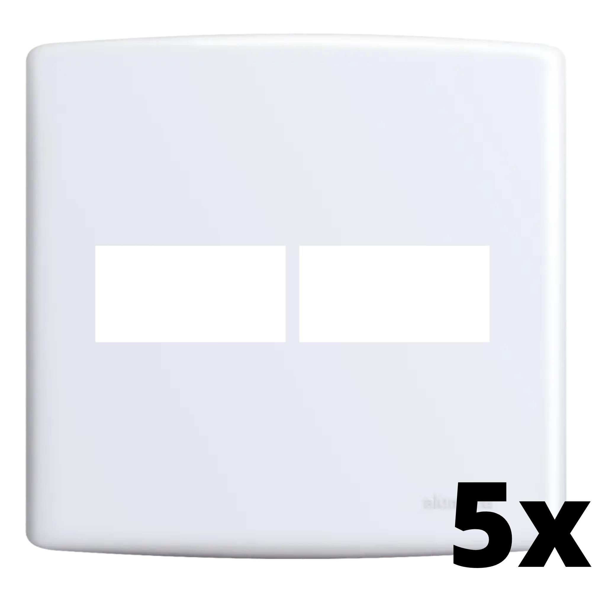 Kit 5 und Siena Placa 4x4 1 Seção + 1 Seção