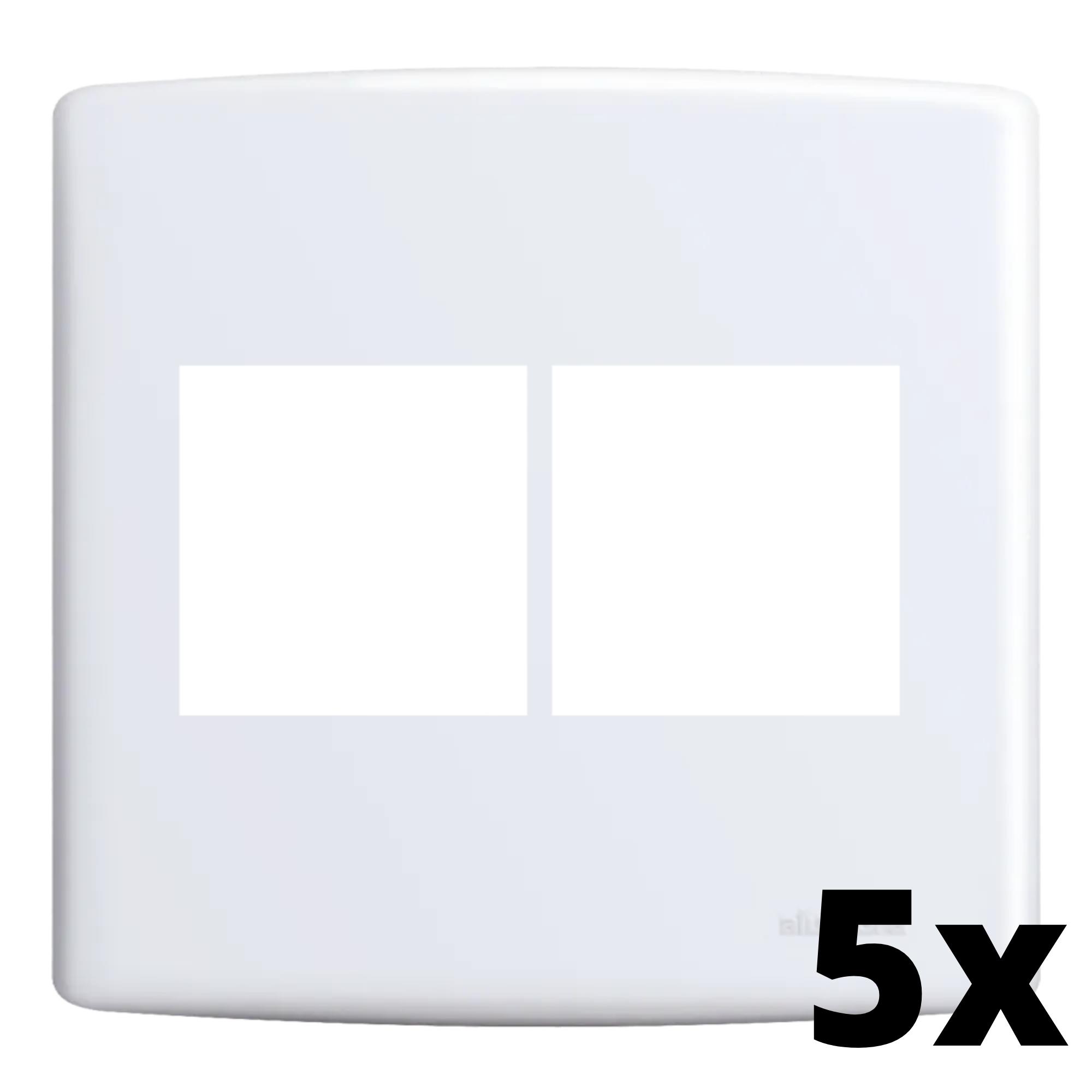 Kit 5 und Siena Placa 4x4 2 Seções + 2 Seções