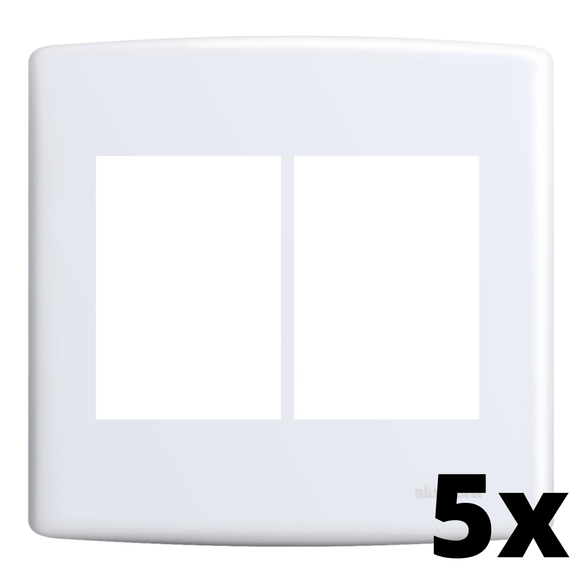 Kit 5 und Siena Placa 4x4 3 Seções + 3 Seções