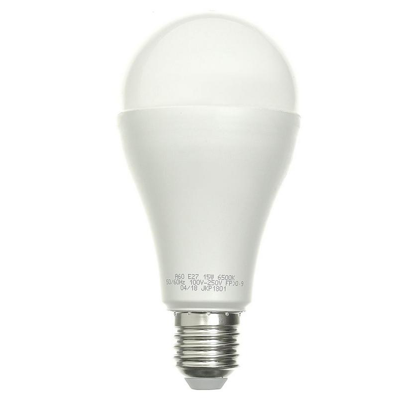 LAMPADA PERA LED 15W 6500K BIVOLT