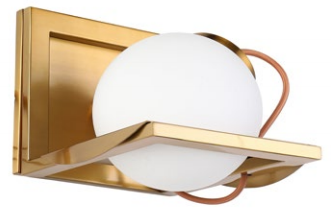 MBLED Arandela Dourada Baya 1 x E27