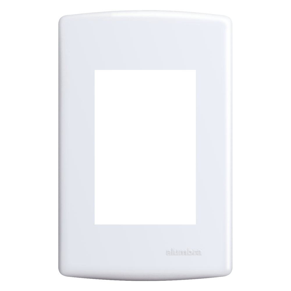 Placa Com Suporte 4x2 3 Seções (Siena) Alumbra