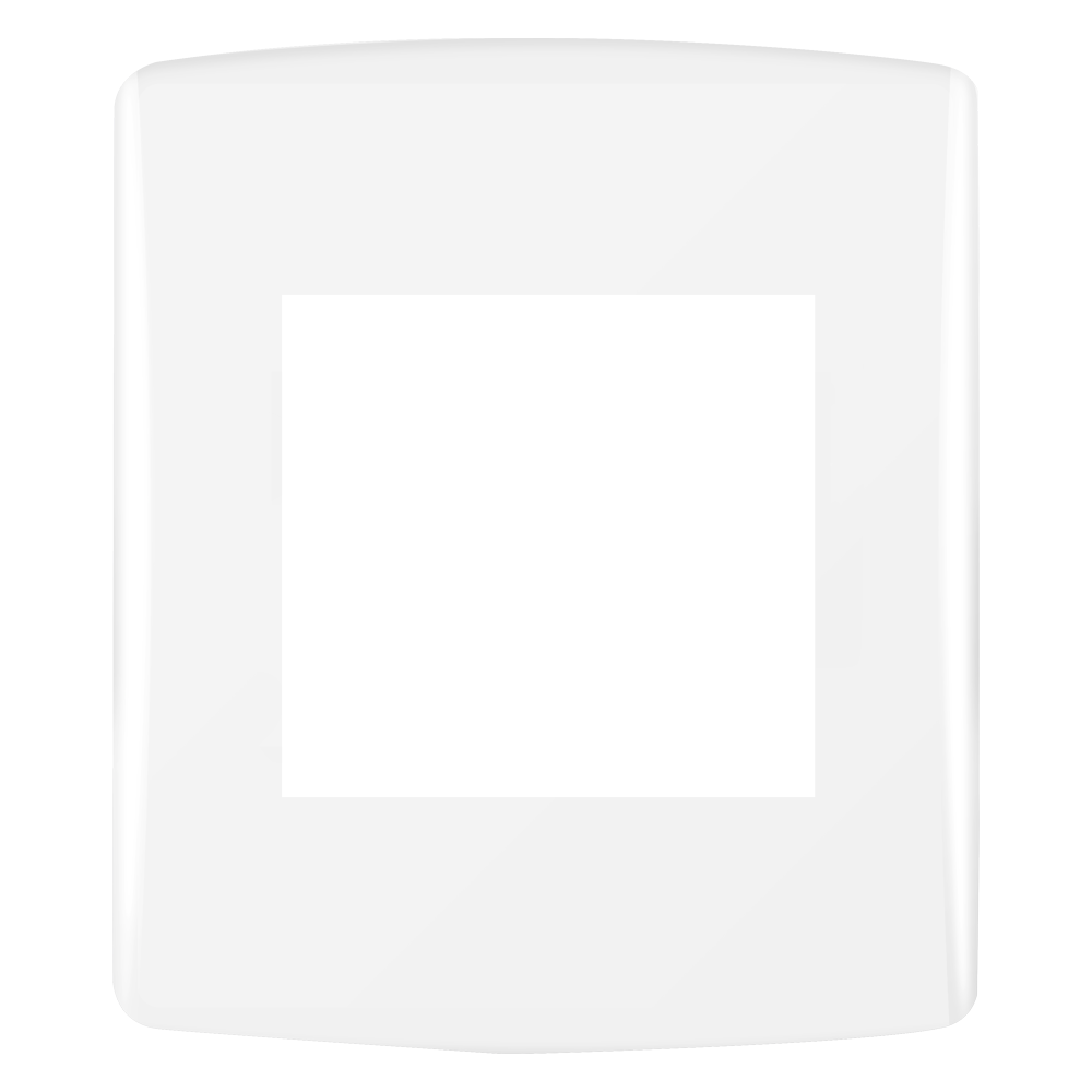 PLACA P/2 MÓDULOS (SIENA FÁCIL) ALUMBRA