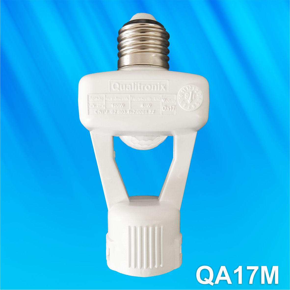 Qualitronix Sensor de Presença Com Bocal Bivolt
