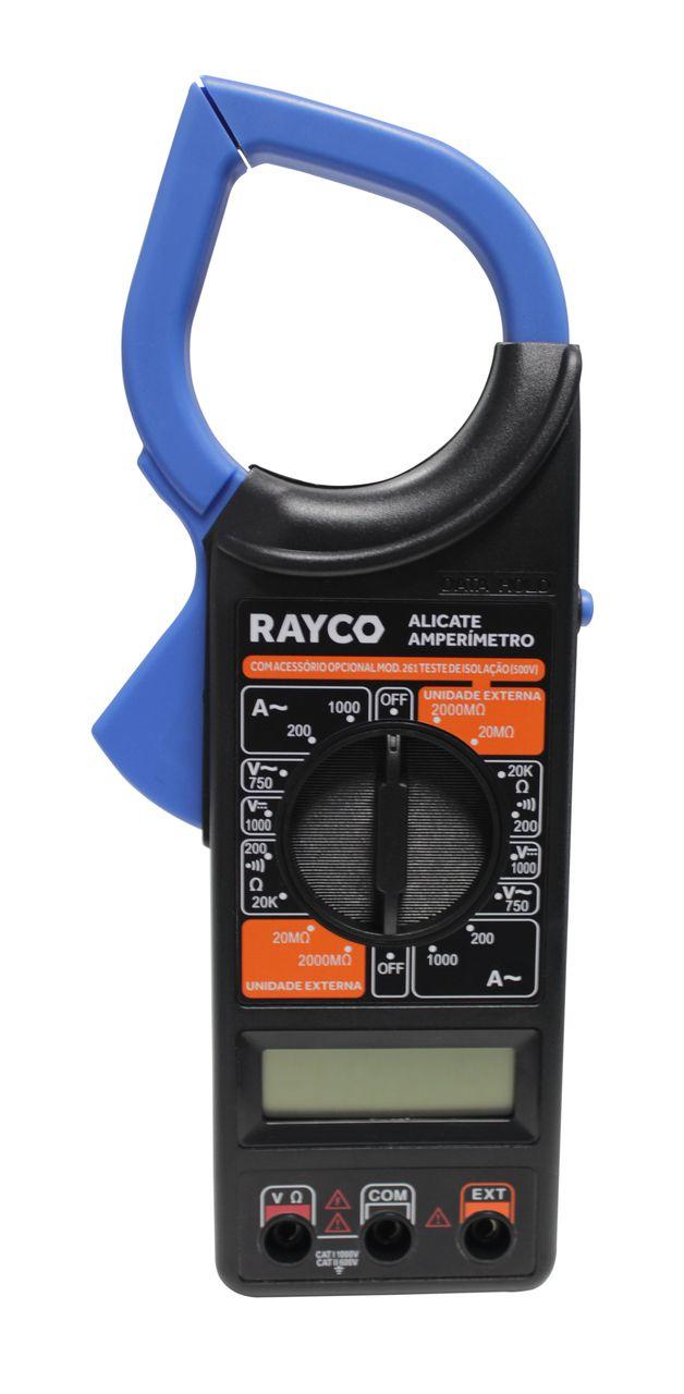 Rayco Alicate Amperímetro Digital