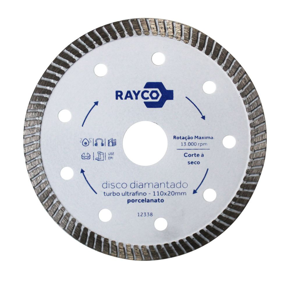 Rayco Disco Diamantado Porcelanato  110mm X 20mm
