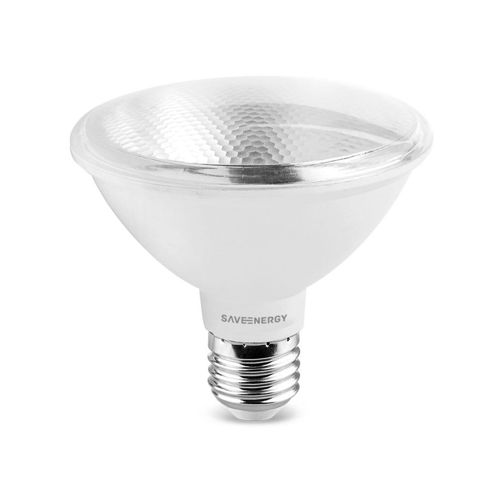 SaveEnergy Lampada Led Par30 E27 10w 2700k Bivolt