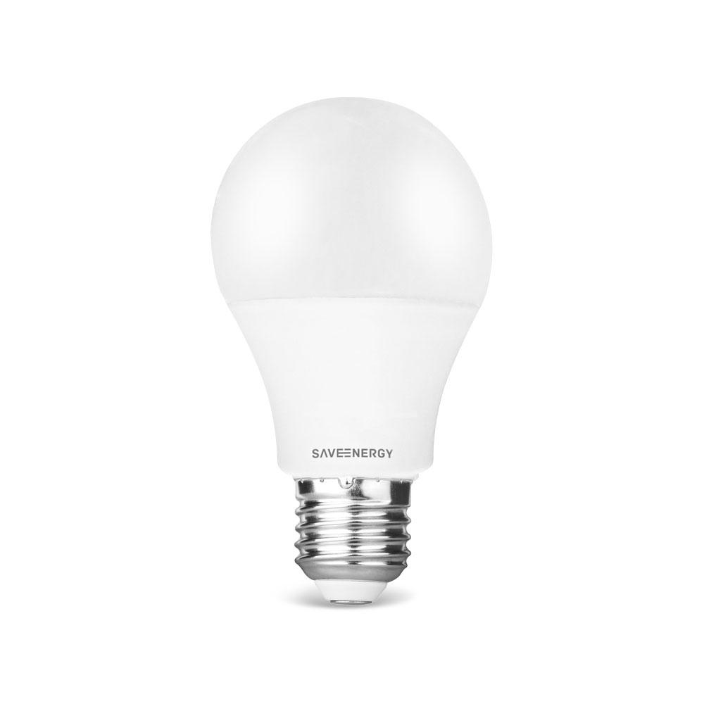 SaveEnergy Lampada LED Pera Dimerizavel 11w 2700k 1050lm E27