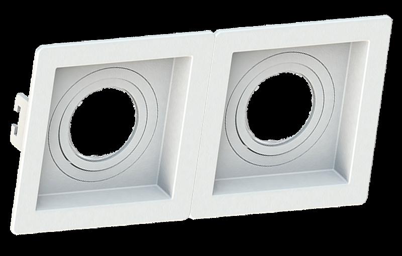 SaveEnergy Spot Branco Embut Linked Face Recuada Par20 E27