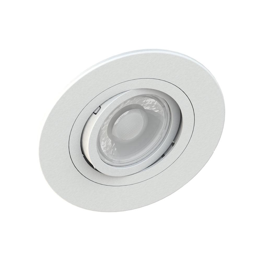 SaveEnergy Spot Branco Embutir Redondo Face Plana para GU10