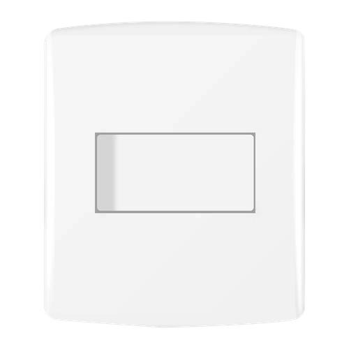 Siena Fácil 1 Seção de Interruptor Simples