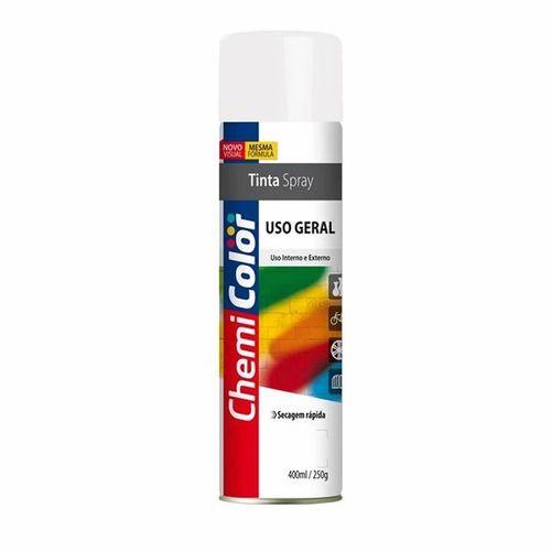 Tinta Spray Branco Brilhante