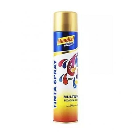 Tinta Spray Dourado
