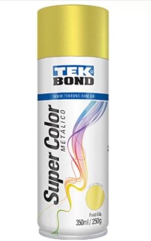Tinta Spray Ouro Metálico