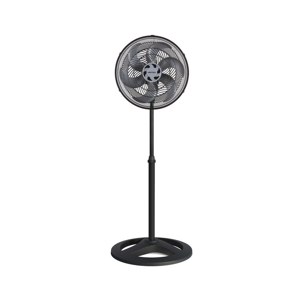 Ventisol Ventilador Coluna Preto 40cm 80w X 127v