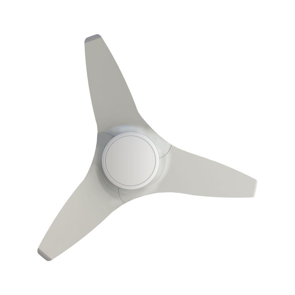 Ventisol Ventilador Flow Branco Com Controle 130w X 220v