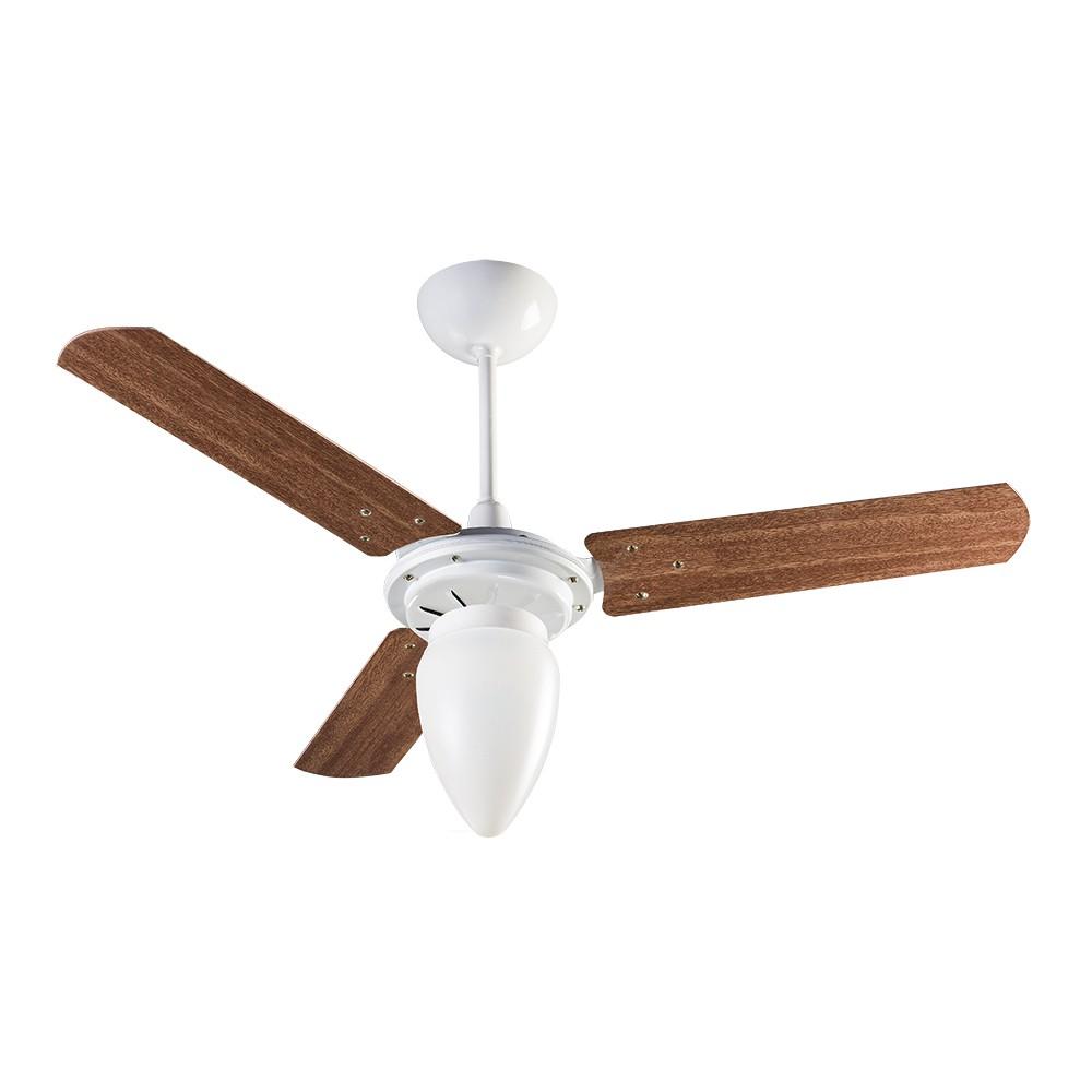 Ventisol Ventilador Wind Light Mogno 3 Pás 130w 127v