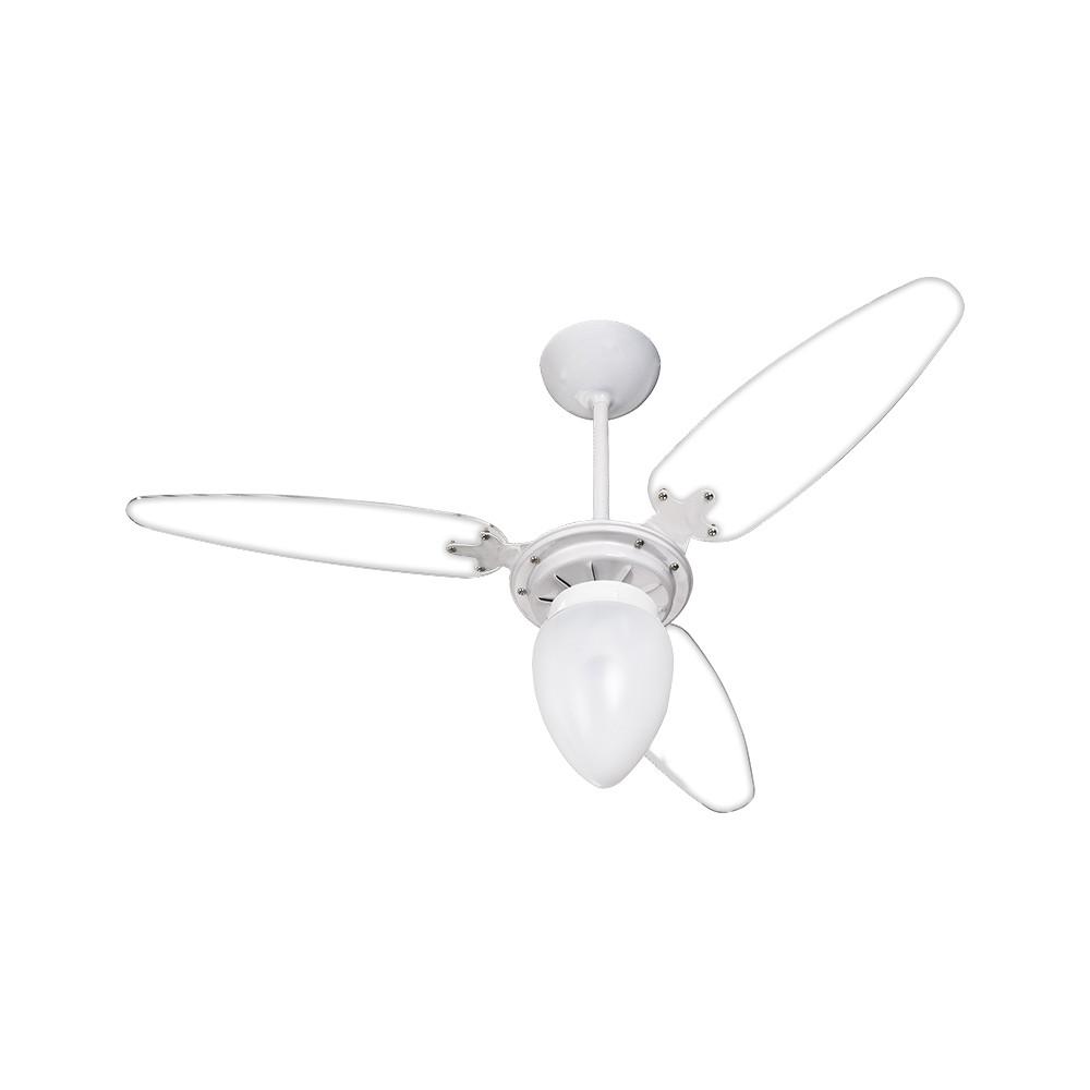 Ventisol Ventilador Wind Light Transparente 3 Pás 130w 127v