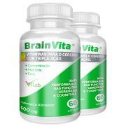 Brainvita - 02 Frascos - 02 Meses de Tratamento