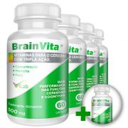 Brainvita  - 05 Frascos - 05 Meses de Tratamento