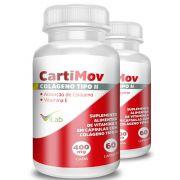 CartiMov - 02 Frascos - 04 Meses de Tratamento