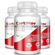 CartiMov - 03 Frascos - 06 Meses de Tratamento