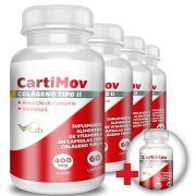 CartiMov - 05 Frascos - 10 Meses de Tratamento