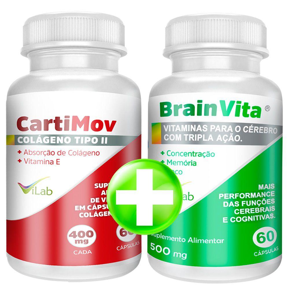 CartiMov + BrainVita:  Desconto e frete grátis.