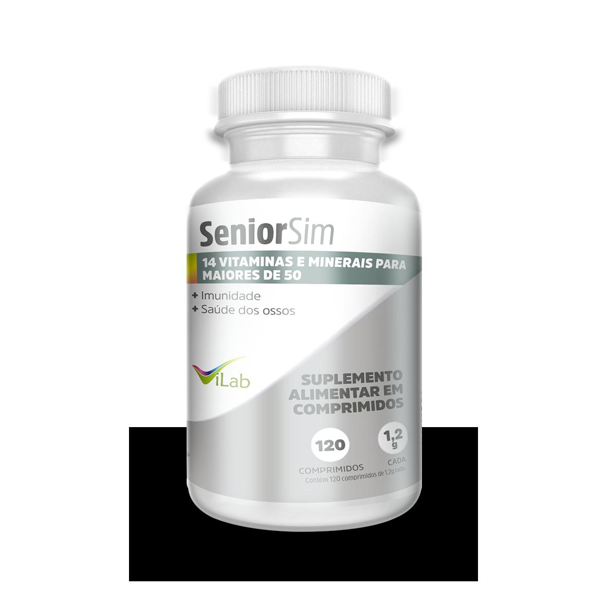 SeniorSim  - 120 comprimidos - 02 meses de tratamento