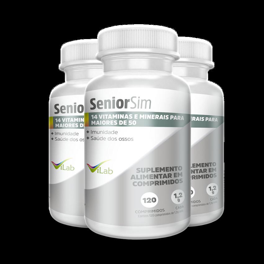 SeniorSim  - 3 frascos - 06 meses de tratamento