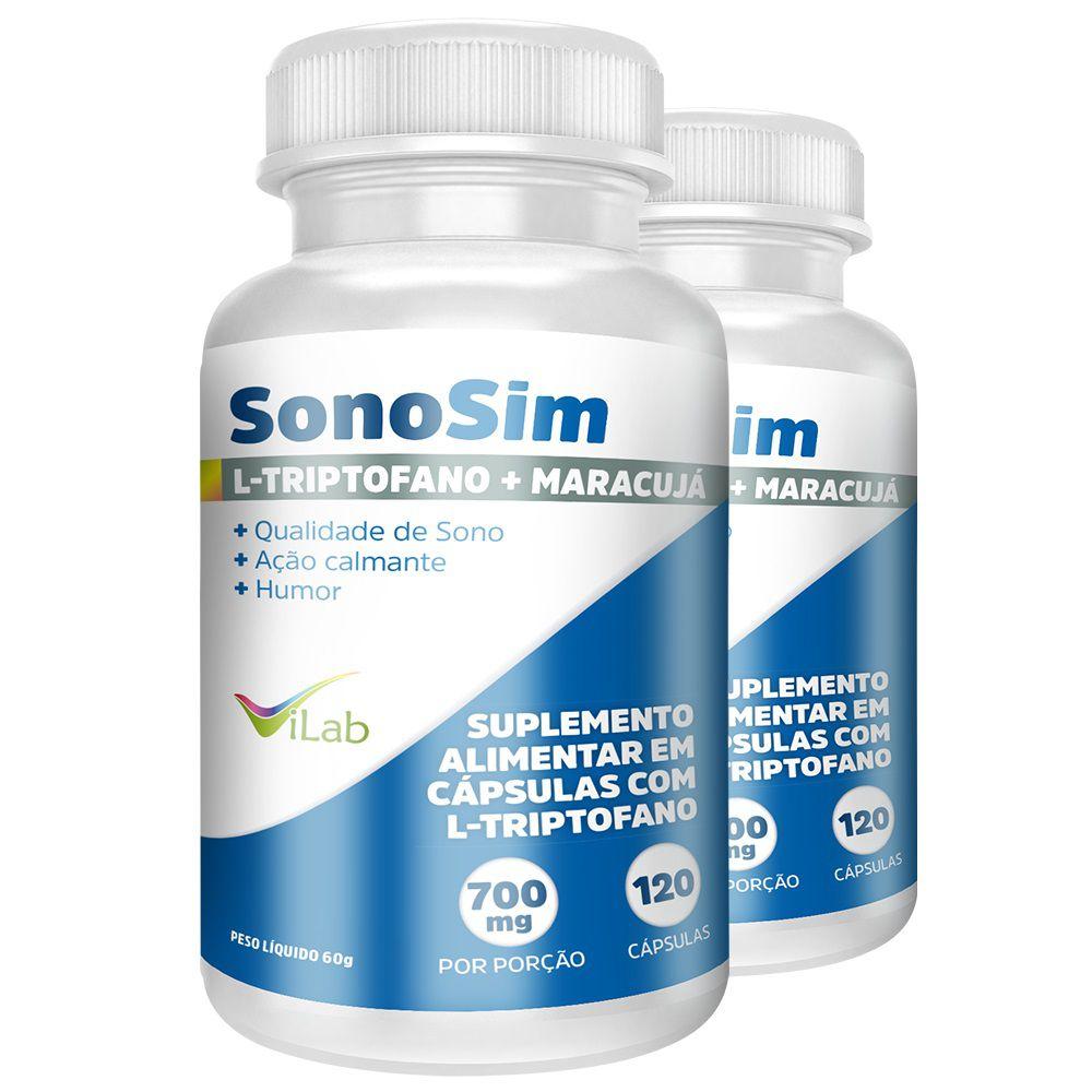 Sonosim - 2 Frascos 4 meses de tratamento