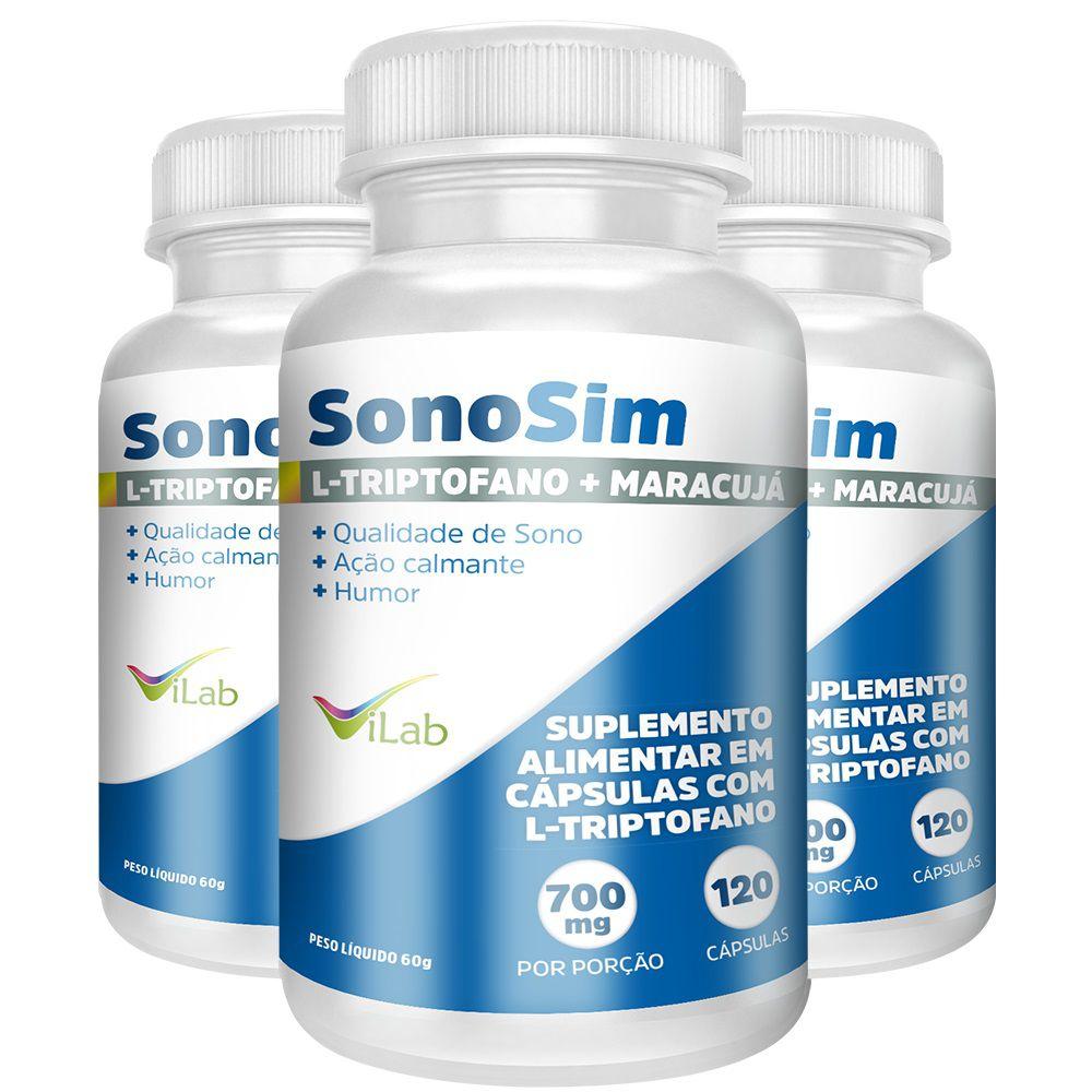 Sonosim - 3 Frascos 6 meses de tratamento