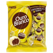 BOMBOM LACTA OURO BRANCO 1KG