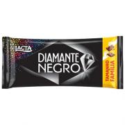 CHOCOLATE AO LEITE COM CROCANTE DIAMANTE NEGRO 165G LACTA