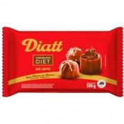 CHOCOLATE DIET AO LEITE 500G