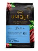 CHOCOLATE EM GOTAS BAHIA 63% UNIQUE 400G