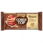 COBERTURA FRACIONADA SABOR CHOCOLATE BRANCO 1,010 KG COBERTOP